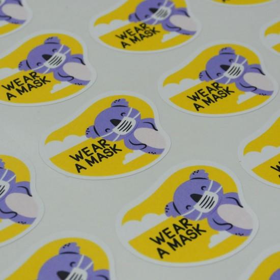 PP Matt Sticker